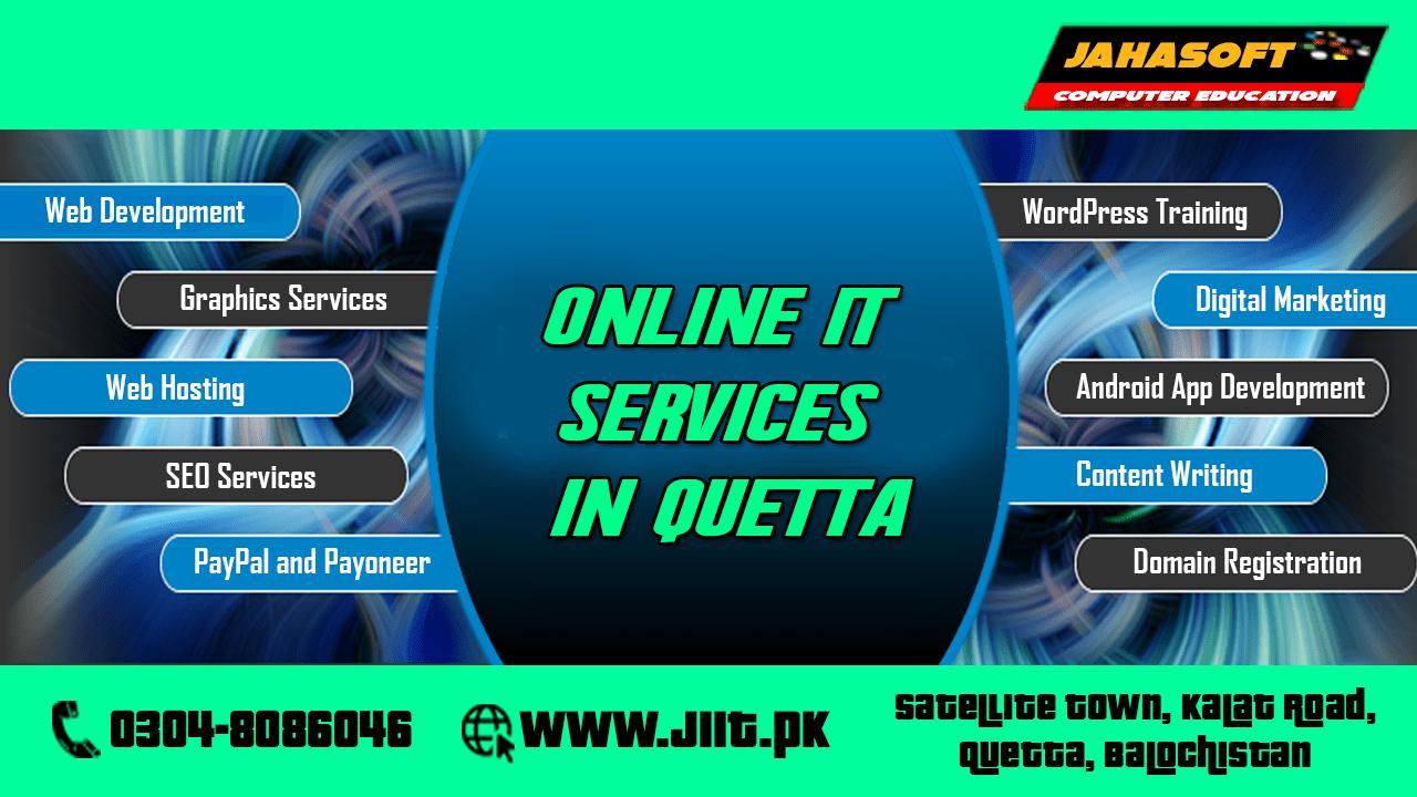 Online IT Services in Quetta Balochistan